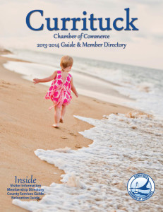 2013 Currituck Chamber Guide Cover