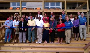 Grand Re-Opening ribbon Cutting Sanderling Resort