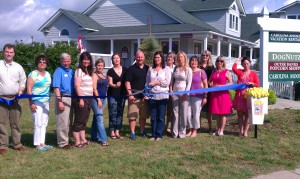 Popcorn ribbon cutting2